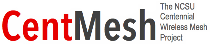 Logo of CentMesh - the NCSU Centennial Wireless Mesh project