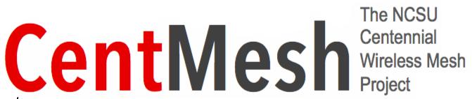 Logo of CentMesh - the NCSU Centennial Wireless Mesh project